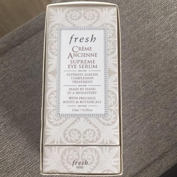 New Fresh Creme Ancienne Supreme Eye Serum Gift